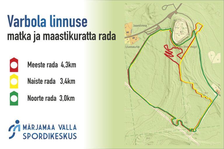 Varbola linnus Märjamaa Valla Spordikeskus