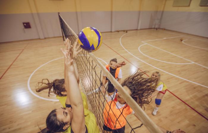 Võrkpalli trennid lastele