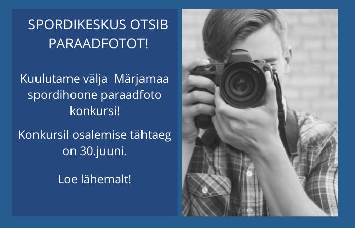 Märjamaa Valla Spordikeskus fotokonkurss